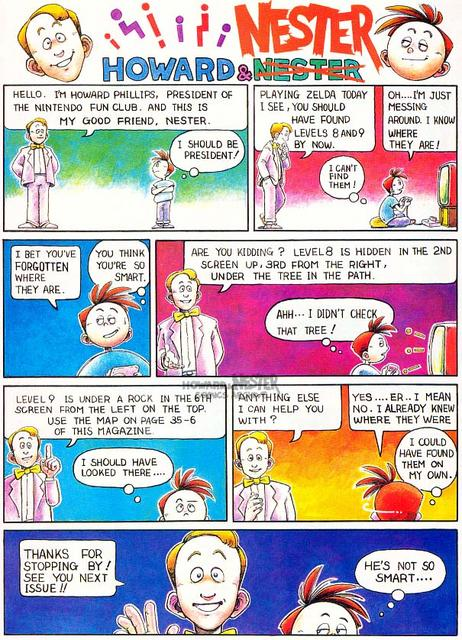 Howard and Nester - 01 - First Comic