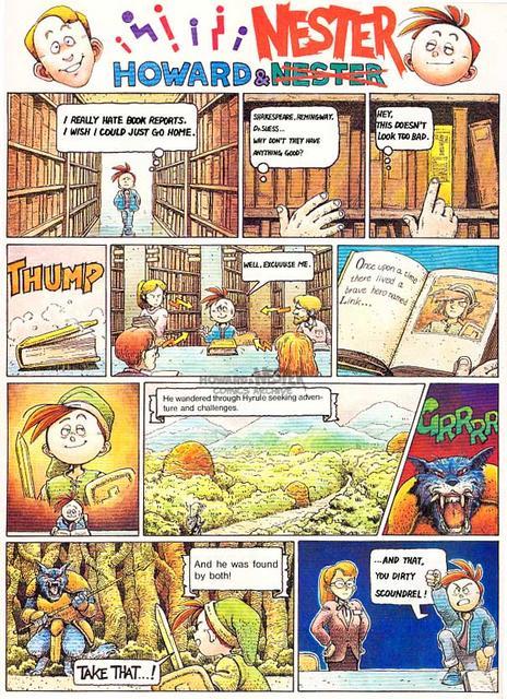 Howard and Nester - 05 p1 - Zelda II: The Adventure of Link