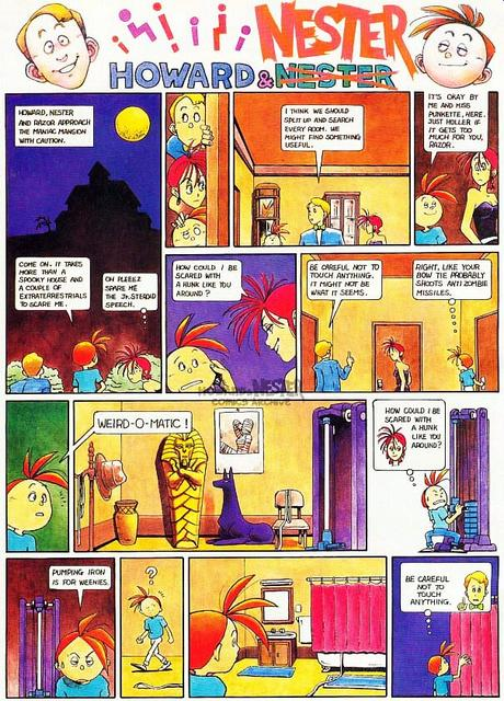 Howard and Nester - 15 p1 - Maniac Mansion
