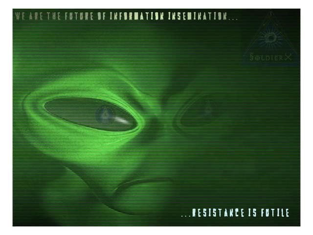 Alien Background by Alien51