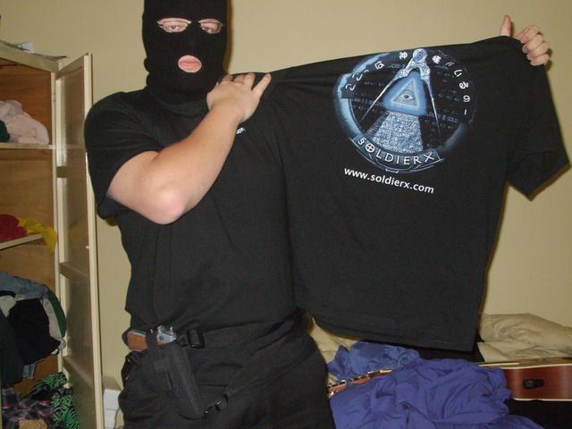 DarkMalice sports his new SX Shirt