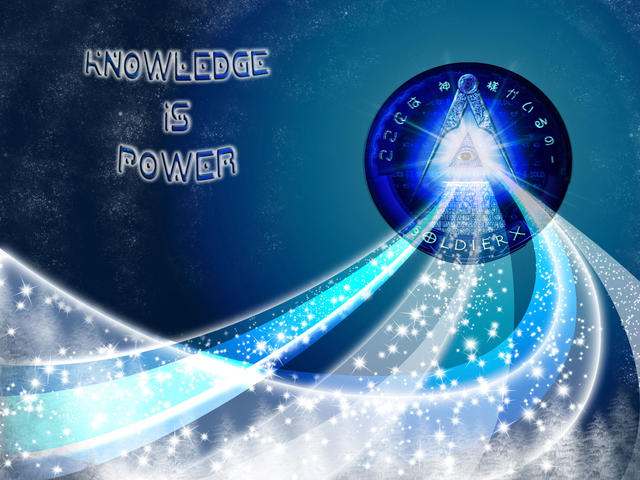 Knowledge Is Power by Psychlone