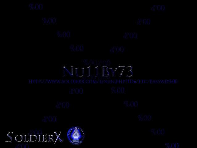 Nu11By73 SX Password Wallpaper | SOLDIERX.COM