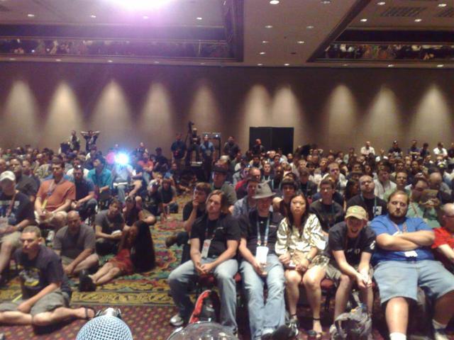 Speech audience